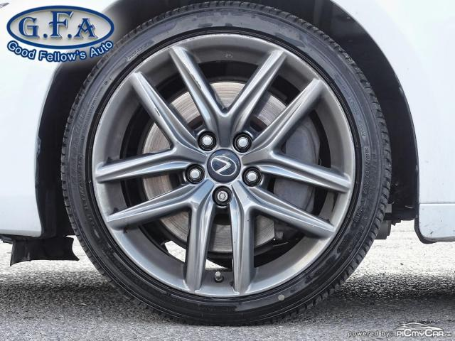 2017 Lexus IS 300 F SPORT2, LEATHER SEATS, SUNROOF, NAVIGATION, LDW Photo6
