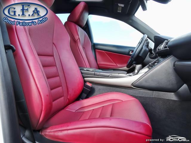 2017 Lexus IS 300 F SPORT2, LEATHER SEATS, SUNROOF, NAVIGATION, LDW Photo11