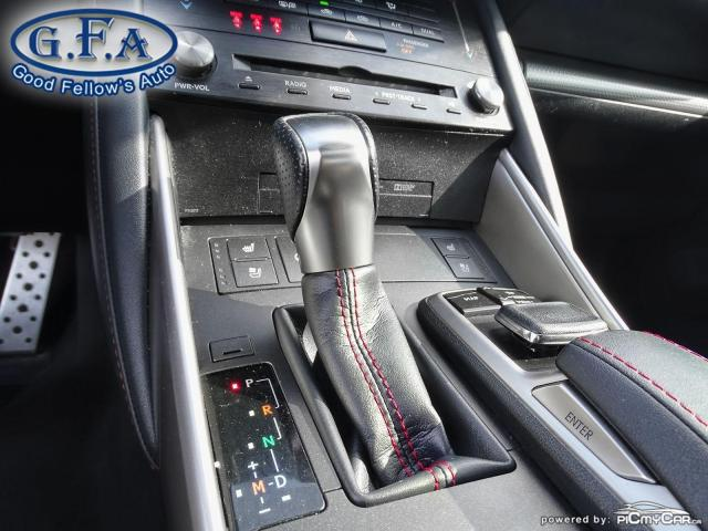 2017 Lexus IS 300 F SPORT2, LEATHER SEATS, SUNROOF, NAVIGATION, LDW Photo17