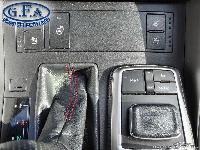2017 Lexus IS 300 F SPORT2, LEATHER SEATS, SUNROOF, NAVIGATION, LDW Photo18