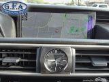 2017 Lexus IS 300 F SPORT2, LEATHER SEATS, SUNROOF, NAVIGATION, LDW Photo46