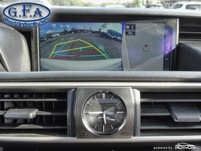 2017 Lexus IS 300 F SPORT2, LEATHER SEATS, SUNROOF, NAVIGATION, LDW Photo23