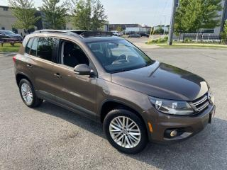 Used 2015 Volkswagen Tiguan Navi., 4 Motion, Low KM, Panoramic Sunroof, Auto, for sale in Toronto, ON