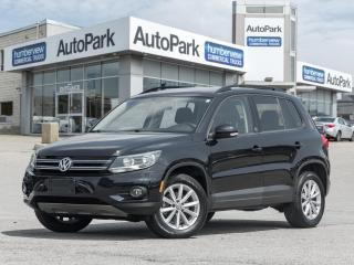 Used 2017 Volkswagen Tiguan Wolfsburg Edition BACKUP CAM|PANO ROOF|LEATHER|WOLFSBURG for sale in Mississauga, ON