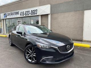 Used 2016 Mazda MAZDA6 GT - LEATHER-SUNROOF-CAMERA for sale in Toronto, ON