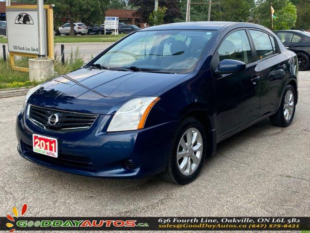 2011 Nissan Sentra ONE OWNER|LOW KM|NO ACCIDENT|WARRANTY|CERTIFIED