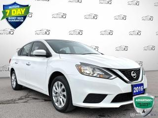 Used 2016 Nissan Sentra 1.8 SV SV Auto/Cloth Seats/Bluetooth/Winter Tires Include for sale in St Thomas, ON