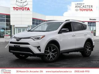 Used 2018 Toyota RAV4 SE | ONE OWNER | NO ACCIDENTS for sale in Ancaster, ON