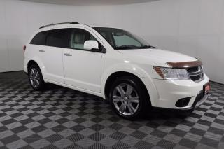 Used 2011 Dodge Journey 3-ROW | AWD | V6 | LEATHER | SUNROOF | REMOTE START | HEATED SEATS for sale in Huntsville, ON