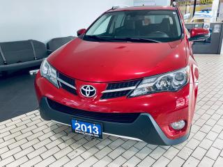 Used 2013 Toyota RAV4 LIMITED  AWD NO ACCIDENT SUNROOF LEATHER $15999 for sale in Brampton, ON