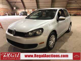 Used 2012 Volkswagen Golf 4D Hatchback for sale in Calgary, AB