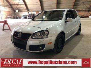 Used 2008 Volkswagen GOLF GTI 2D HATCHBACK for sale in Calgary, AB