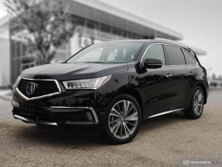 Used 2017 Acura MDX Elite Pkg 4 New Tires! | Surround View | Navigation for sale in Winnipeg, MB