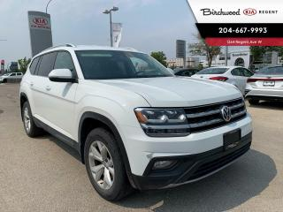 Used 2019 Volkswagen Atlas Comfortline | Local One Owner | V6 | 7 Passenger | Tow Package | Power Liftgate | for sale in Winnipeg, MB