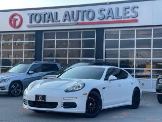 Used 2016 Porsche Panamera 4 | SPORT CHRONO | PDK | RED LEATHER | PREMIUM + for sale in North York, ON