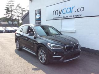 Used 2017 BMW X1 xDrive28i LEATHER, HEATED SEATS, BLUETOOTH, 18 ALLOYS for sale in Richmond, ON