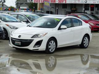 Used 2010 Mazda MAZDA3 GT,2.5,LEATHER,FULLY LOADED,CERTIFIED,SUNROOF,HEATED SEATS for sale in Mississauga, ON