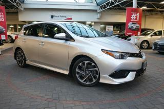 Used 2017 Toyota Corolla iM HEATED SEATS / LOW KM / LOCAL for sale in Vancouver, BC