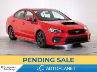Used 2020 Subaru WRX Sport AWD, Back Up Cam, Sunroof, Blind Spot Assist for sale in Brampton, ON