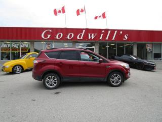 Used 2017 Ford Escape SE CLEAN CARFAX! DEALER SERVICED! for sale in Aylmer, ON