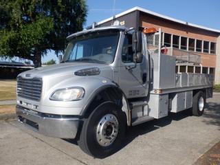 Used 2009 Freightliner M2106 Flat Deck 17 foot Air Brakes Diesel for sale in Burnaby, BC