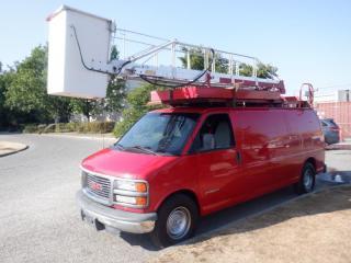 Used 2002 GMC Savana Bucket G3500 Extended Cargo Van Rear Shelving Diesel for sale in Burnaby, BC