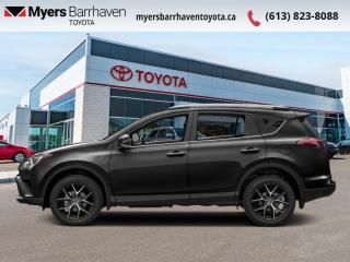 Used 2017 Toyota RAV4 AWD SE  - Navigation -  Sunroof - $155 B/W for sale in Ottawa, ON