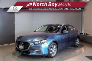 Used 2018 Mazda MAZDA3 GX Automatic - Bluetooth - Cruise - Cloth Seats for sale in North Bay, ON
