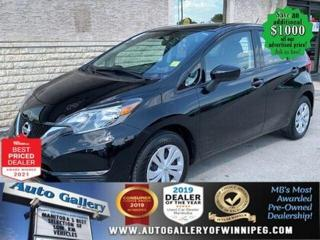 Used 2018 Nissan Versa S* Air Conditioning/Automatic/BLUETOOTH for sale in Winnipeg, MB