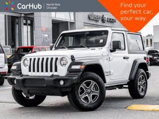Used 2019 Jeep Wrangler Sport S 4x4 Heated Seats & Wheel Remote Start Backup Camera for sale in Thornhill, ON