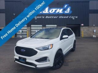 Used 2020 Ford Edge ST Line - Leather, Navigation, Sunroof, Auto Start-Stop, Bluetooth, Reverse Camera, Alloys and More! for sale in Guelph, ON