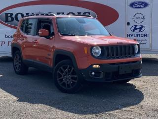 Used 2016 Jeep Renegade North *4X4, BEATS SOUND SYSTEM* for sale in Midland, ON