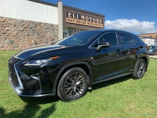 Used 2017 Lexus RX 450h F-SPORT 3 NAVI PANO ROOF 360 CAM HUD for sale in North York, ON