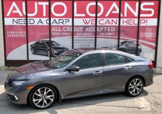 Used 2019 Honda Civic TOURING-ALL CREDIT ACCEPTED for sale in Toronto, ON