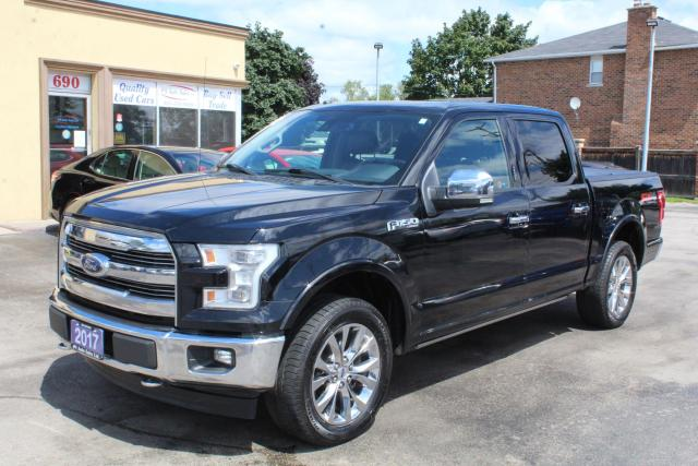 2017 Ford F-150 LARIAT | Pano Roof | Power Boards