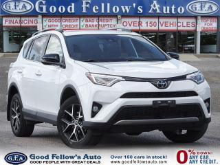 Used 2017 Toyota RAV4 SE MODEL, AWD, SUNROOF, LEATHER SEATS, BACKUP CAM for sale in Toronto, ON