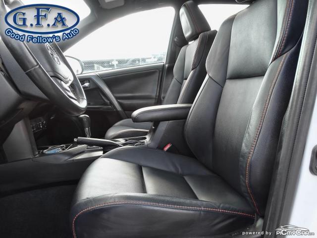 2017 Toyota RAV4 SE MODEL, AWD, SUNROOF, LEATHER SEATS, BACKUP CAM Photo8