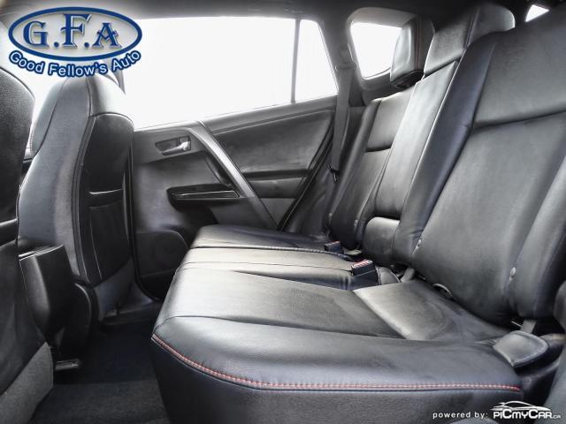 2017 Toyota RAV4 SE MODEL, AWD, SUNROOF, LEATHER SEATS, BACKUP CAM Photo10
