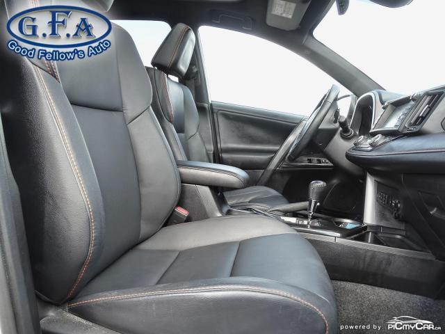 2017 Toyota RAV4 SE MODEL, AWD, SUNROOF, LEATHER SEATS, BACKUP CAM Photo11