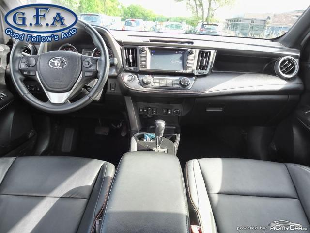 2017 Toyota RAV4 SE MODEL, AWD, SUNROOF, LEATHER SEATS, BACKUP CAM Photo12