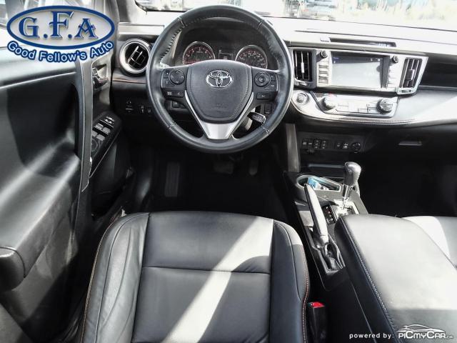 2017 Toyota RAV4 SE MODEL, AWD, SUNROOF, LEATHER SEATS, BACKUP CAM Photo13
