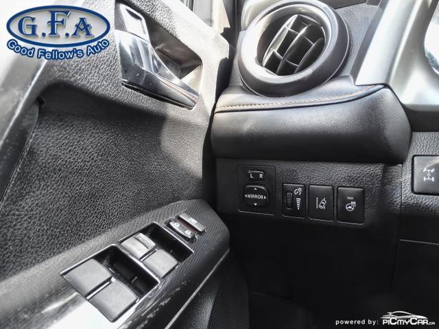 2017 Toyota RAV4 SE MODEL, AWD, SUNROOF, LEATHER SEATS, BACKUP CAM Photo18