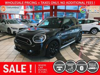 Used 2019 MINI Cooper Countryman Cooper S ALL4 - Accident Free / Local / One Owner / Nav for sale in Richmond, BC