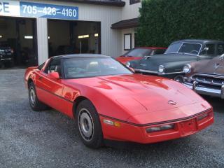 Used 1985 Chevrolet Corvette GLASS TOP for sale in Beaverton, ON