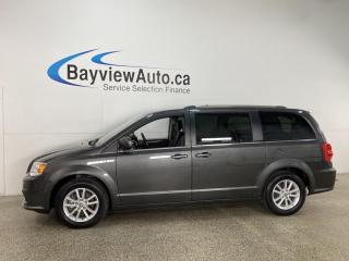 Used 2019 Dodge Grand Caravan CVP/SXT - 3 ZONE A/C! DVD! 1/2 LEATHER! FULL PWR GROUP! + MORE! for sale in Belleville, ON