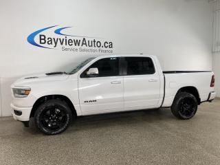 Used 2019 RAM 1500 Rebel - 8SPD AUTO! 4X4! PANROOF! NAV! HEATED LEATHER! LOADED! for sale in Belleville, ON