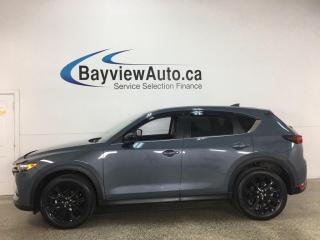 Used 2021 Mazda CX-5 Kuro Edition - AWD! SUNROOF! HEATED LEATHER! + MUCH MORE! for sale in Belleville, ON
