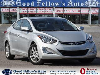 Used 2015 Hyundai Elantra SPORT, SUNROOF, REARVIEW CAMERA, HEATED SEATS for sale in Toronto, ON