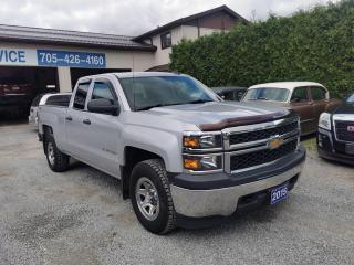 Used 2015 Chevrolet Silverado 1500 LS, Double Door, 4x4 for sale in Beaverton, ON