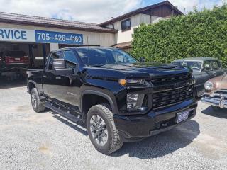 Used 2021 Chevrolet Silverado 2500 HD, Custom, 4x4, Crew Cab for sale in Beaverton, ON